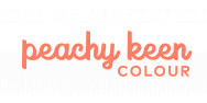 Peachy Keen Colour logo